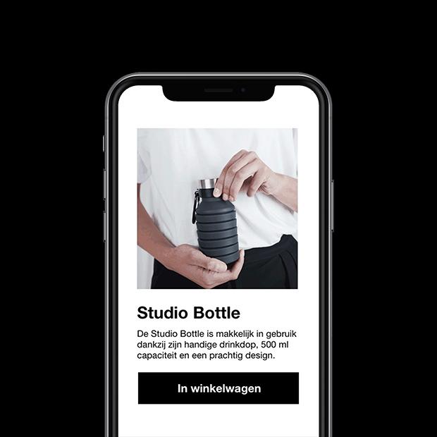 Voorbeeld productvideo webshop pagina